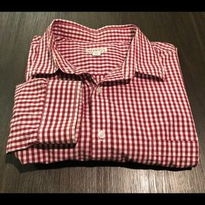 Checkered Button Front Shirt